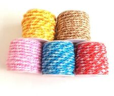Elastic Twist Ribbon Cord Trim Sewing Jewellery Making Findings - lady-muck1
