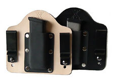 FoxX Holsters Leather & Kydex IWB Magazine Carrier Holster Glock .45 Double Stac