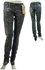 True Religion Women's Cosmic Print Stella Skinny Leg Pants New with Tags