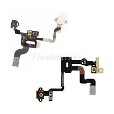 Power Button On Off Switch Proximity Light Sensor Flex Cable For iPhone 4 4s 4G
