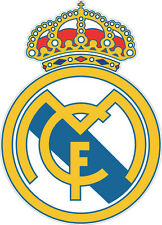 Real Madrid Club de Fútbol Real Madrid Vinyl Decal/Sticker- 4 Sizes Available