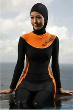 Full cover swimsuit loose fitting modest swimwear Burkini  Muslim Swimming Abaya