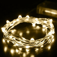 Hot 2M String Fairy Light 20 LED Battery Operated Xmas Lights Party Wedding