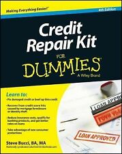 CREDIT REPAIR FOR DUMMIES! 4TH. EDITION! LATEST EDITION! VERY HELPFUL BOOK!