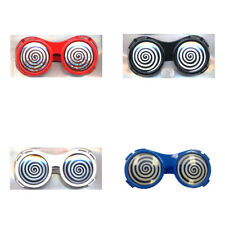 Round X-Ray Vision Glasses (Choose Your Color) Red Black White Blue Wonka Adult