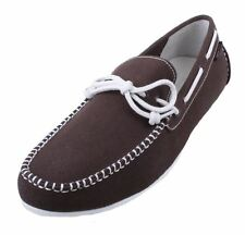 Cole Haan Grant LTE Mens Java Fabric/White Driving Moccasin Shoes