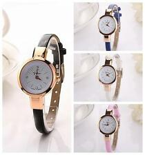 2015 HOT LUXURY Womens Lady Watches Round Quartz Analog Bracelet Wristwatch Gift