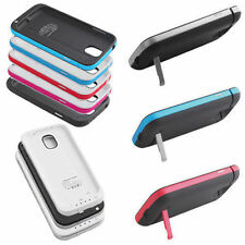 Backup Battery Charger Case Cover Power Bank For Samsung Galaxy S4 i9500 4200mAh