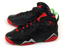 Nike Air Jordan 7 Retro BG GS Black/University Red/Green-Cool Grey 304774-029