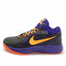 Nike The Overplay VIII [637382-500] Basketball Black/Purple-Orange