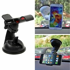 Universal In Car Windshield Mount Stand Clip Cradle Holder for Cell Phone GPS