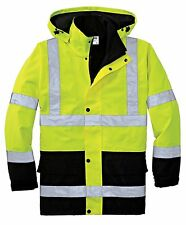 High Visibility Reflective Class 3 Waterproof Parka Jacket-CSJ24