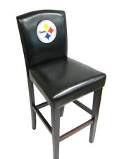 "PAIR OF PITTSBURGH STEELERS TEAM LOGO 24"" BAR STOOL COUNTER CHAIR (S)"