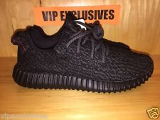 Adidas Yeezy 350 Boost Low Kanye West Triple Black Pirate Black AQ2659