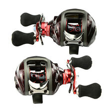 11+1 BB 6.3:1 Right/Left Hand Fishing Reel Bait Casting Baitcast Reels 12BB New