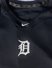 NIKE DETROIT TIGERS HYPERCOOL DRI-FIT SHIRT OFFICIAL MLB PLAYER ISSUED GARMENT