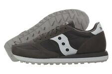 Saucony Jazz Original 2044-274 Grey Suede Nylon Fashion Shoes Medium (D, M) Men