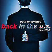 Back in the U.S. by Paul McCartney (CD, Nov-2002, 2 Discs, Capitol) 2 DISC SET!