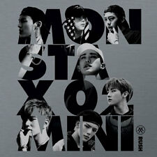 MONSTA X-[RUSH] 2nd Mini Album OFFICIAL Ver CD + Photocard  K-POP Sealed