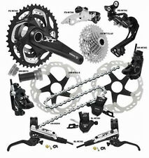 Shimano Deore XT 780 785 Disc Groupset Rapidfire 2014 black 3x10 without Hubs