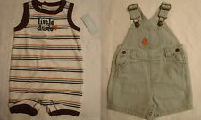 GYMBOREE Baby Boys 0-3 Month Little Surfer Dude Outfit Choice NWT