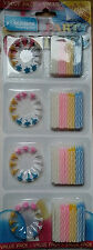 Party Candles Cake Decoration Birthday Celebration White Pink Yellow Blue Cheap!
