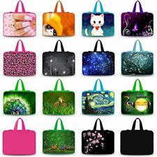 "Soft Neoprene Laptop Handle Case Bag Cover For 13.3"" 13"" 12.5"" Netbook Notebook"