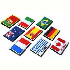 Wholesale Nation Flag Emblem Patch Embroidered Country Sew Trim Hot A53