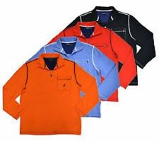 Nautica Mens Half Zip Mock Neck Sweatshirt Pick Color Size M, L, XL, XXL NWT