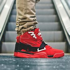 EWING ATHLETICS CONCEPT HI RED/BLACK/WHITE SZ 5-16 BRAND NEW 1EW90117-602 SUEDE