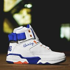 EWING ATHLETICS 33 HI WHITE/ROYAL/ORANGE KNICKS SZ 5-16 BRAND NEW 1EW90014-136