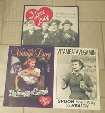 I love Lucy Tin Sign Vintage Vitameatavegamin 179 Episodes