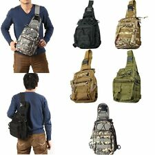 Outdoor Military Tactical Backpack Rucksack Camping Hiking Sling Bag Day Pack