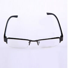 NEWLY 1.0 to 4.0 Lens Reading Glasses Coating Metal Half-frame Reading Glasses
