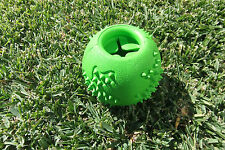 Hiho Dog Toys - Small to Extra Large Treat Dispensing Green Rubber Ball Chew!
