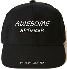 AWESOME ARTIFICER PERSONALISED BASEBALL CAP HAT XMAS GIFT