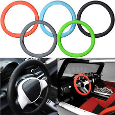 Universal Auto Truck Skidproof Silicone Soft Car Steering Wheel Covers 33.5cm