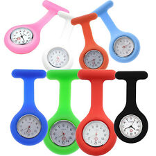 Hot Nurses Pocket Fob Silicone Gel Watch Infection Control Machine Washable