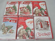 """Quality~Christmas Cards~Great Designs~Single Titles Male~Size 9""""x6""""~Cutie Card"""