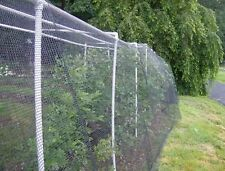 Knitted Anti Bird Netting BLACK 5m width Pond Netting Fruit Protection - 40GSM