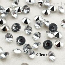 1000 Pointed Back Acrylic Rhinestone 3mm 3.5mm 4.5mm 6mm  Jewelry Making