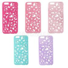 Hollow Out 3D Bling Daisy Flower Pearl Case Cover for iPhone 6 Assorted color