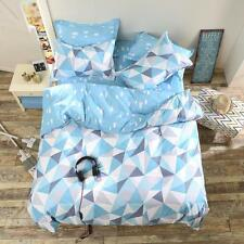White Pine Single Double Queen King Size Bed Set Pillowcases Quilt Duvet Cover