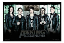 Framed Asking Alexandria Window Poster New