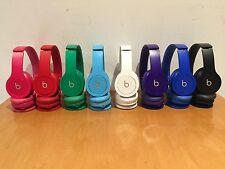 Authentic Beats by Dr. Dre Solo HD Drenched Headband Headphones w/ Box