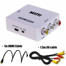 1080P HD HDMI to RCA Audio Video Composite AV Adapter Converter / Cable for HDTV