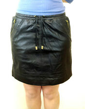 Womens Real Leather Skirt Black Leather Skirt UK Sizes 12 14 16 18 20 22 24