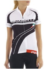 PINARELLO CLASSIC WOMENS BANDE BIKE JERSEY BLACK/WHITE 2015