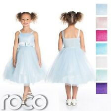 Girls Bridesmaid Dresses, Bow Detail Dress, Girls Party Dress, Prom Dresses