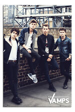 The Vamps Wall Official Large Poster New - Maxi Size 36 x 24 Inch